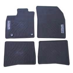 All Weather Floor Mats Prius 2009 Toyota All Weather Floor Mats Black Part Number Pt908