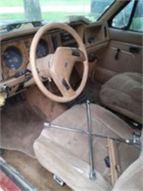 1985 Ford Bronco Interior by 1985 Ford Bronco Pictures Cargurus