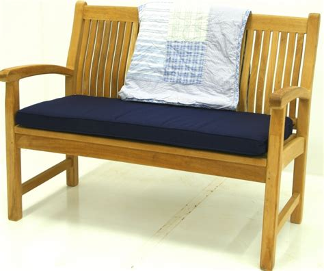 teak bench cushions monet bench 625 00 benchsmith com crafters of