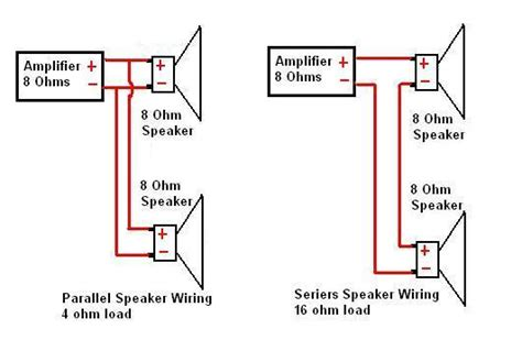 8 ohm speaker wiring diagram get free image about wiring