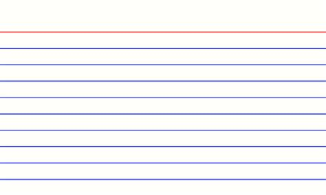 3x5 index card template with lines printable index card template with lines search results