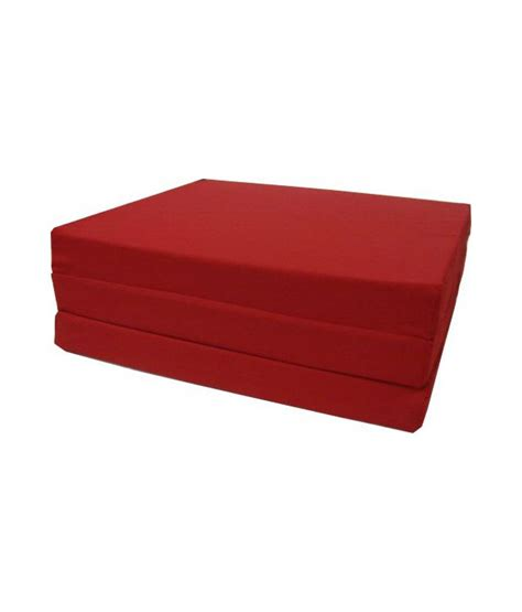trifold foam bed brand new red shikibuton trifold foam beds 3 inches thick