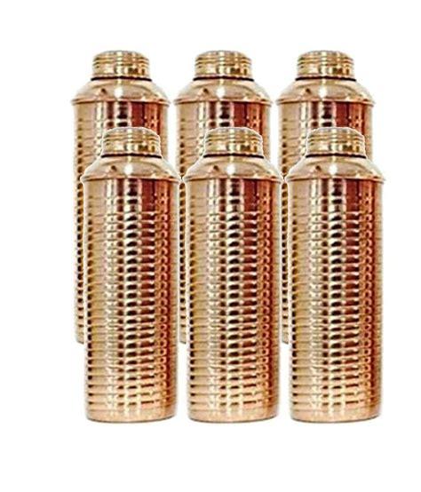 100 Copper Bottle by Terashopee 100 Copper Bisleri Bottle Lining For