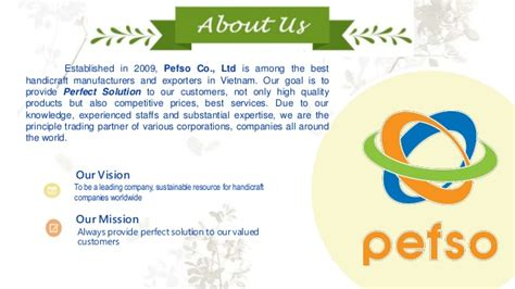 Handcraft Worldwide Company - pefso handicraft manufacturer