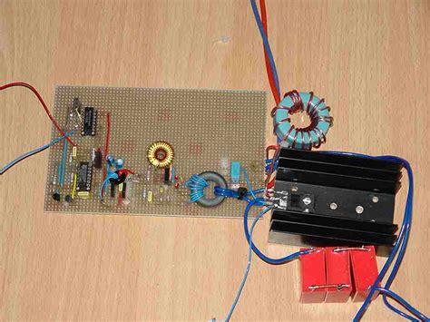 bilder kleinen speisesã len sstc 4 solid state tesla coil hf 4mhz