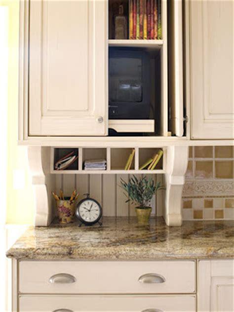 shalllow shelf under cabinets gets stuff off counter home furniture kitchen storage ideas 2011