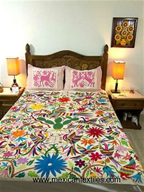 mexican embroidered bedding 17 best images about mexician otomi on pinterest folk