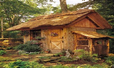 thatched roof shed thatched roof shed tiny house interiors cottage build treesranchcom