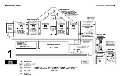 honolulu airport diagram 29 creative honolulu airport arrivals map afputra
