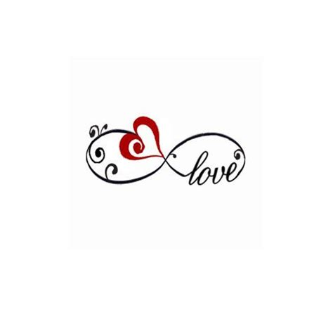 infinity tattoo logo sweettats love red heart infinity wrist temporary tattoo