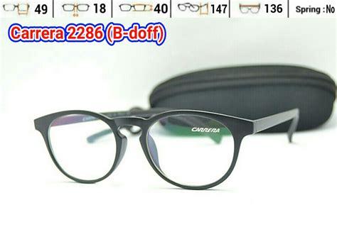 Kacamata Pri Wanita Kacamata Lotos 6 jual frame kacamata carerra 2286 pria wanita baca minus eyewear chaovi store
