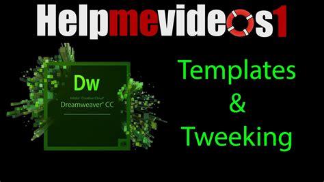 free dreamweaver cc templates dreamweaver cc templates tweeking