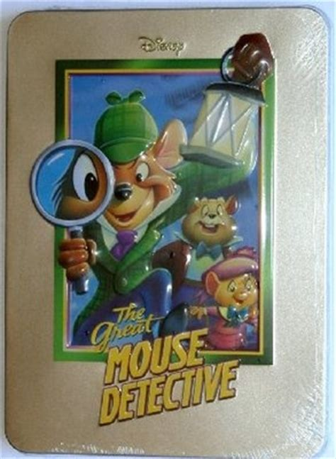 Disney Magical Fireplace Dvd by Disney Dvd The Great Mouse Detective Collectors Steelbook