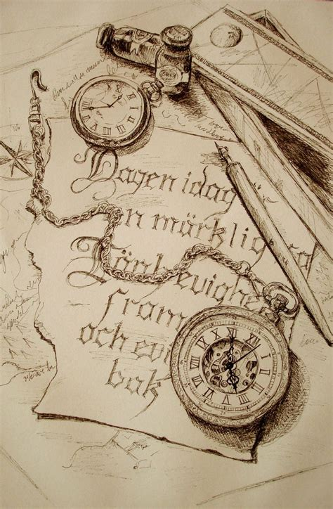 old pocket watch tattoo designs vintage pocket sketch inspiration