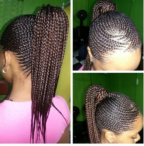 african braids pictures of cornrow braids in pony tails pin by lacresha dowdy on cornrows african hair braiding
