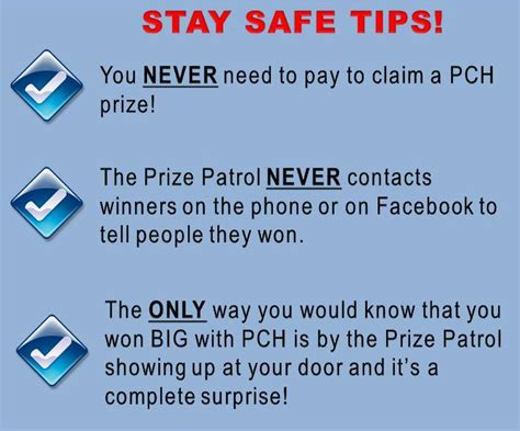 Facebook Publishers Clearing House Scam - advice from a real winner on how to spot pch scams pch blog