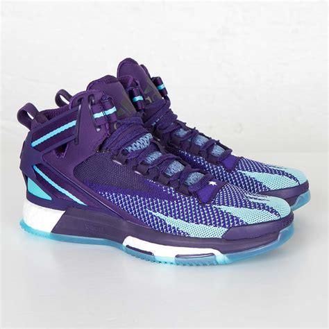 adidas purple basketball shoes adidas d 6 primeknit boost basketball shoes s