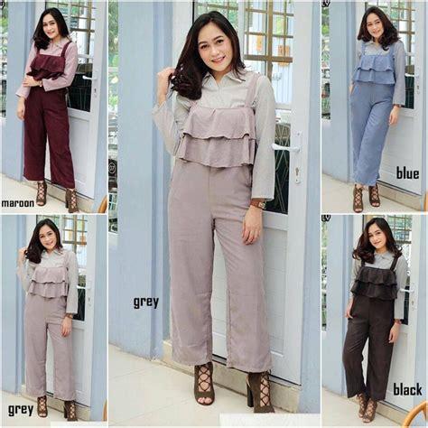 Baju Jumpsuit Baju Wanita Korea Baju Murah Grosir Baju Wanita grosir baju ellea jumpsuit grosir baju muslim pakaian wanita dan busana murah