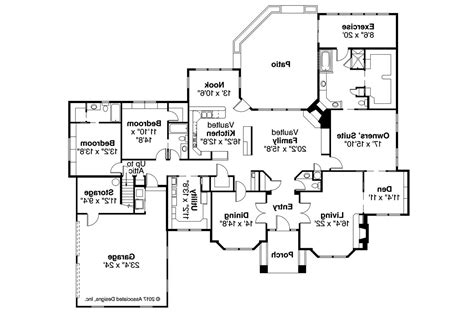 brentwood floor plan classic house plans brentwood 30 007 associated designs