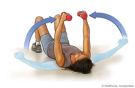 Dumbbell Flys Floor by How To Make Your Firmer New Health Guide