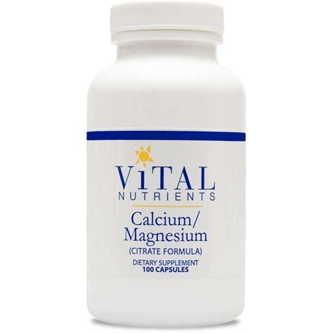 Vital Nutrients Detox Formula by Vital Nutrients Calcium Magnesium Citrate Formula 100