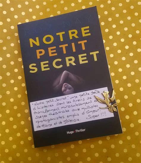 notre petit secret 9782755633412 notre petit secret les petits mots des libraires