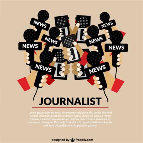 Design Journalists | journalism concept template vector free download