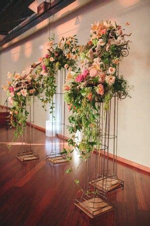 multicolored san francisco wedding floral arrangements
