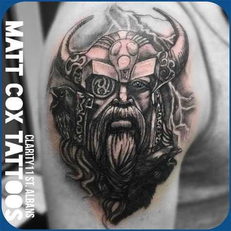 odin tattoo mcox972 odin viking warrior realistic odin warrior viking