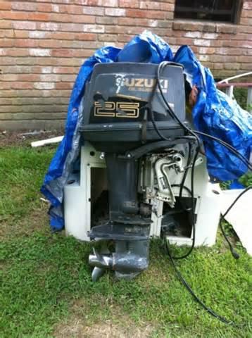 Suzuki 25 Hp Outboard For Sale 1989 25hp Suzuki Outboard Outboard Motors For Sale In
