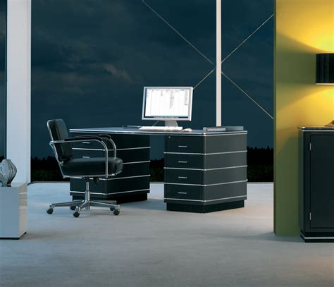 Retro Modern Desk Executive Desk And Cabinet Wharfside Office Furniture