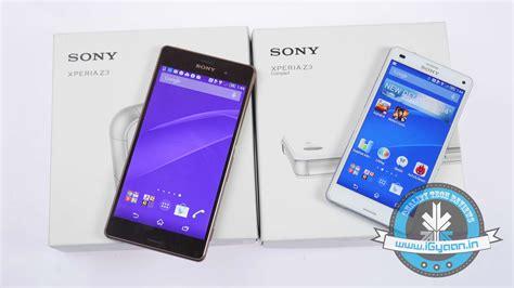 Sony Xperia Z3 Big 3gb 32gb 207mp sony xperia z3 vs sony xperia z3 compact