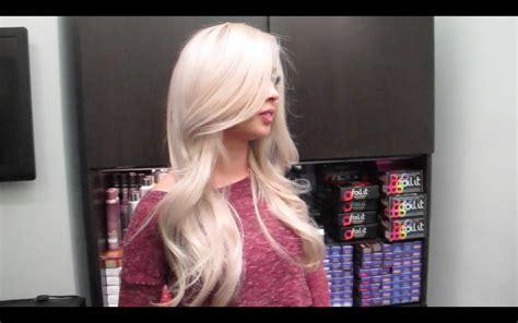 elsa hair color disney s frozen inspired elsa hair color tutorial
