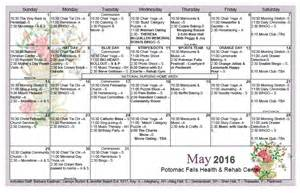activity calendar template december activity calendar for day care calendar