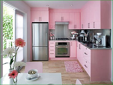 white kitchen pink purple appliances amazing architecture