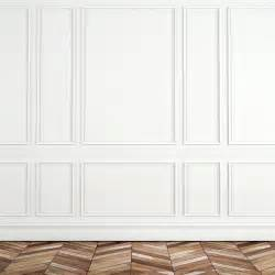 wall molding working with challenging architectural details