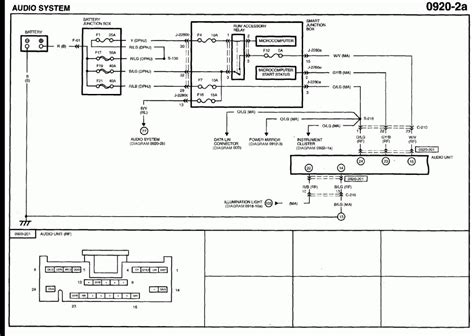 2006 mazda 3 stereo wiring diagram color free