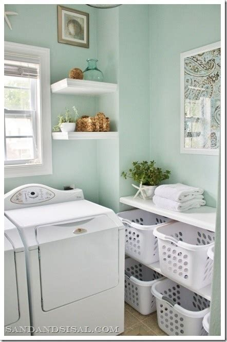 mint green laundry room use leftover paint from kitchen laundryrooms wall colors room