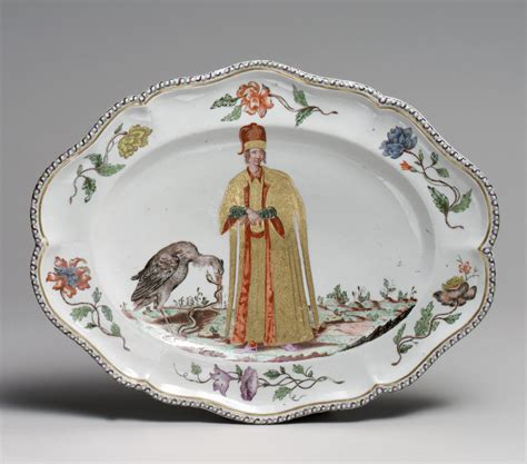 doccia porcelain platter one of a set doccia manufactory attributed to