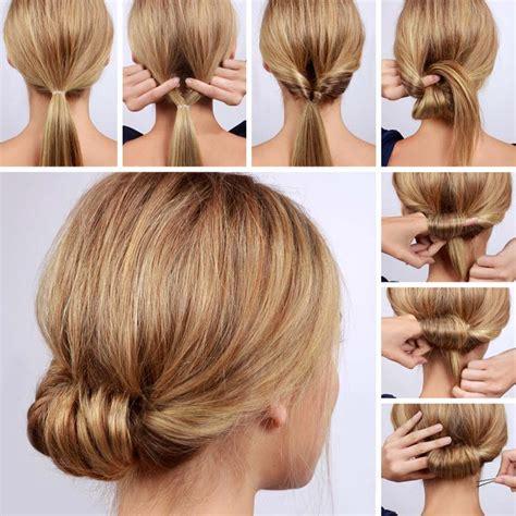 cara membuat cepol rambut tipis tatanan rambut cantik tanpa ribet tanpa lama dan tanpa mahal