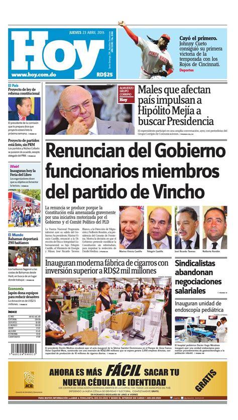 doodle de hoy 23 de abril de 2015 peri 243 dico jueves 23 de abril 2015 by periodico hoy issuu