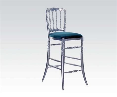 Bar Stools 29 Seat Height by Neo Classic Silver Finish Bar Stool 29 Quot Seat Height