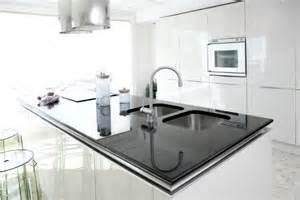 White Modern Kitchen Ideas Black And White Modern Kitchens Inspired By Monochrome Designs