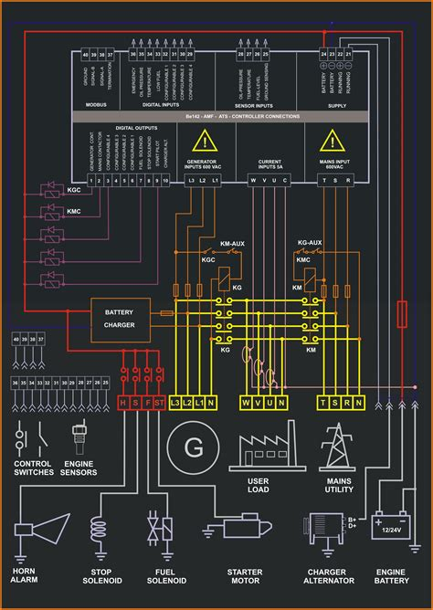 lighting panel wiring diagram pdf free