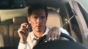 new lincoln car commercial matthew mcconaughey talks to dogs in lincoln ad