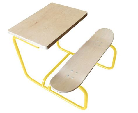 Handmade Skateboard - handmade skateboard desks by lecons de choses junior