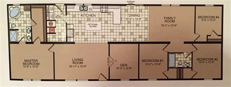 5 bedroom wide floor plans wide floor plan 5 bedrooms in 1600 square