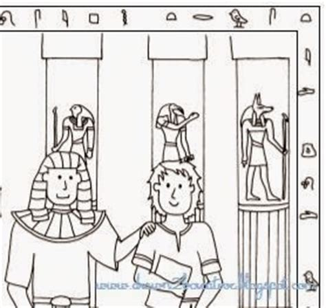 joseph the dreamer coloring pages with scripture
