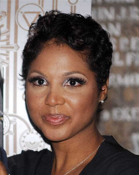 toni braxton. Nice voice but oy, what a ******* moron
