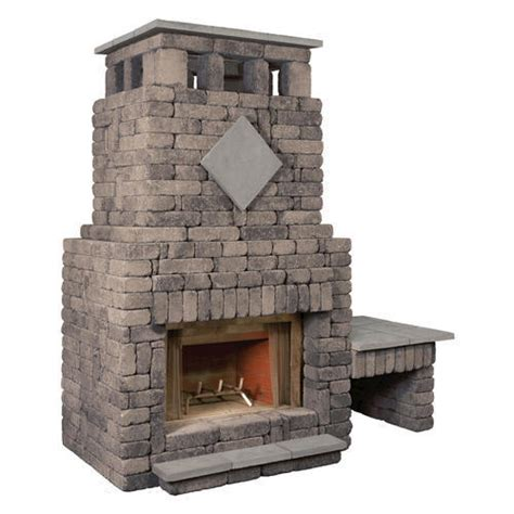 Fireplaces Bradford by Bradford Fireplace With Single Woodbox At Menards 174